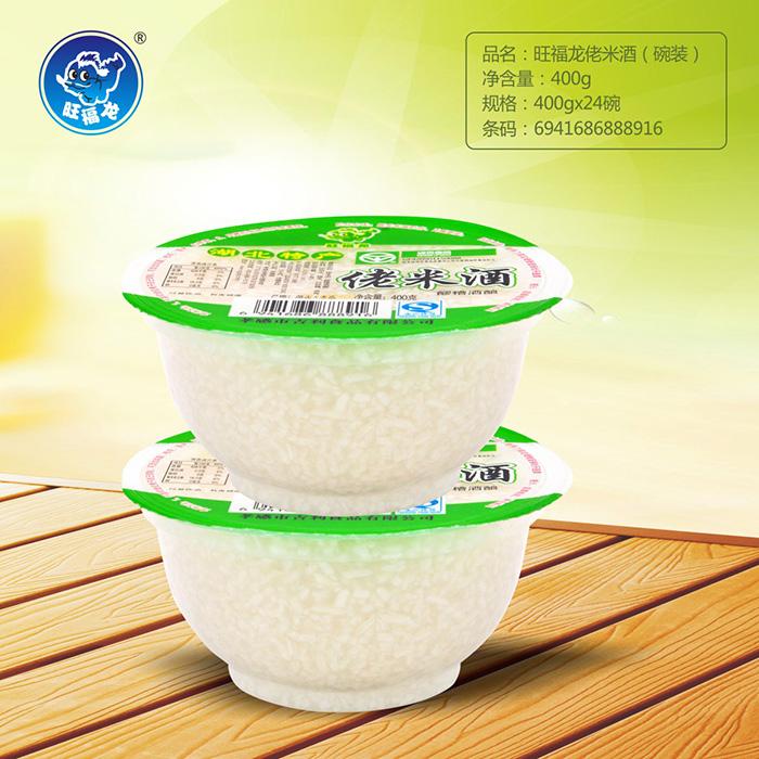 旺福龙圆碗装佬米酒400g