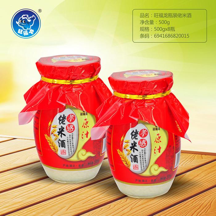 旺福龙瓶装佬米酒500g