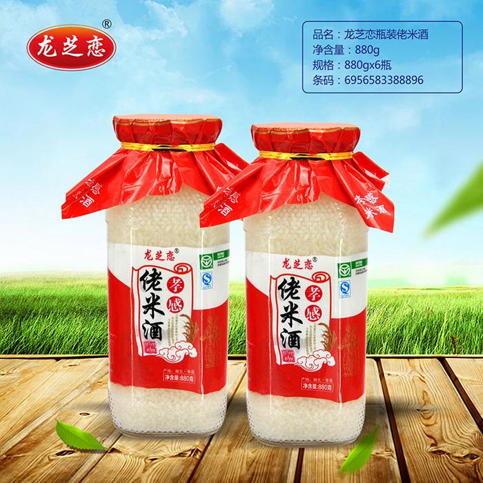 龙芝恋瓶装佬米酒880g