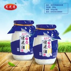 杭州龙芝恋瓶装佬米酒900g
