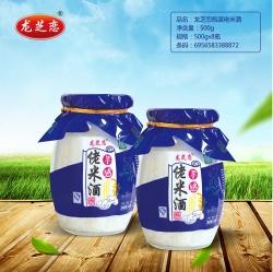 杭州龙芝恋瓶装佬米酒500g