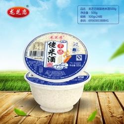 武汉龙芝恋碗装佬米酒500g