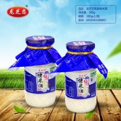 龙芝恋瓶装佬米酒380g