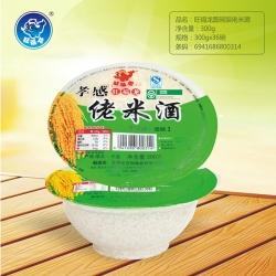 旺福龙圆碗装佬米酒300g