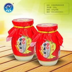 湖北旺福龙瓶装佬米酒500g