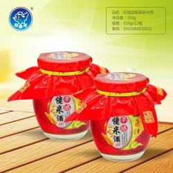 湖北旺福龙瓶装佬米酒350g
