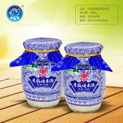 旺福龙瓶装佬米酒900g