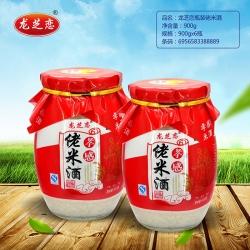 龙芝恋瓶装佬米酒900g