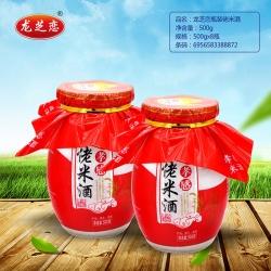 龙芝恋瓶装佬米酒500g