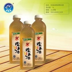 黑河旺福龙瓶装糯米酒1L