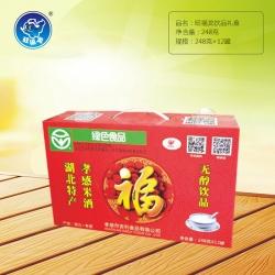 武汉旺福龙饮品礼盒248gx12