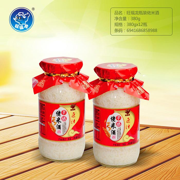 瓶装佬米酒380g
